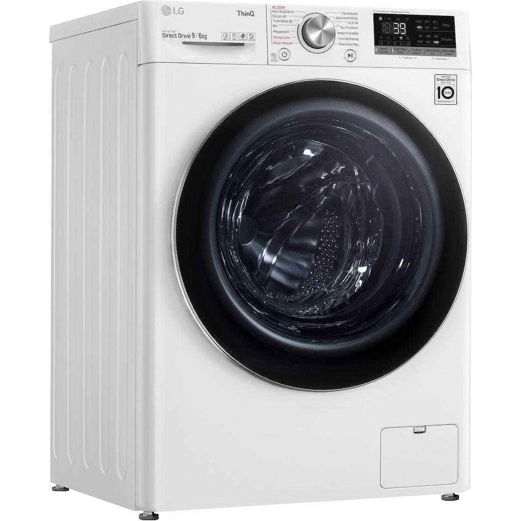 LG Waschtrockner »V7WD96H1A«