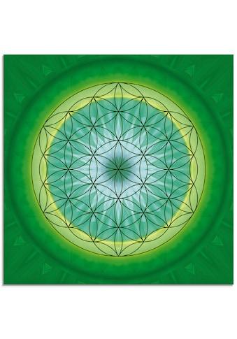 Artland Glasbild »Blume des Lebens 3«, Muster, (1 St.) kaufen