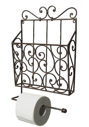 Ambiente Haus Wandregal »Zeitungs-/Toilettenrollenhalter, vintage«, (1 St.) kaufen