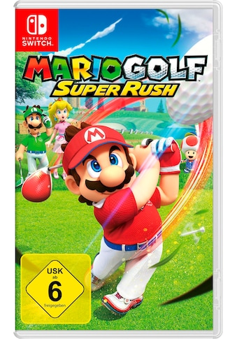 Nintendo Switch Konsolen-Set, inkl. Mario Golf: Super Rush kaufen