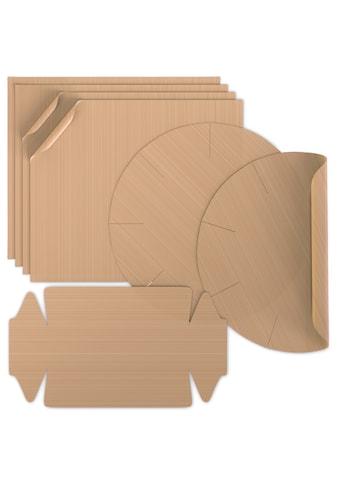 Arendo Backmatte »Backpapier 4x eckig, 2x Springform, 1x Kastenform« (7 - tlg.) kaufen