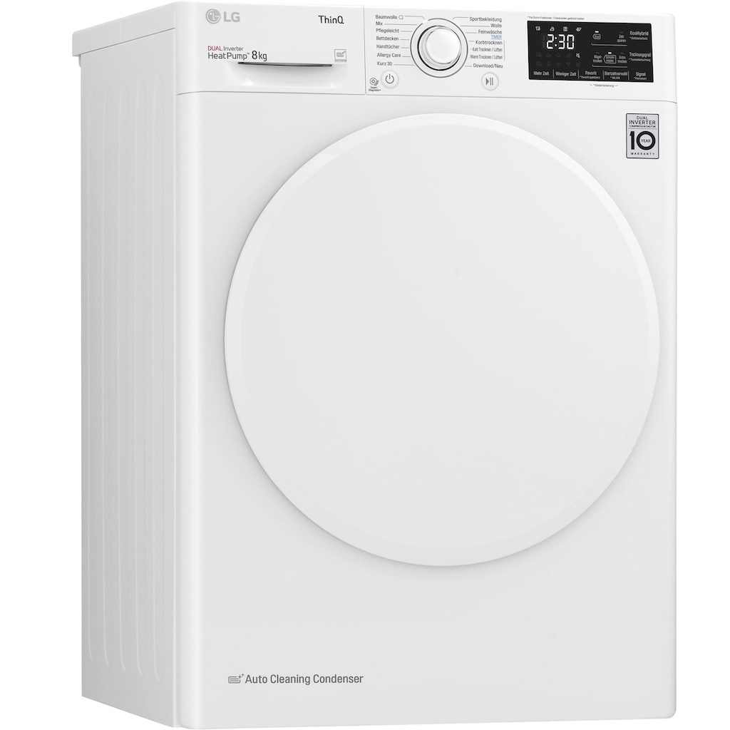 LG Wärmepumpentrockner »RT8DIHP«