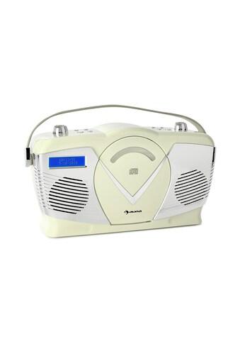 Auna DAB Retro CD - Radio UKW DAB+ CD - Player USB Bluetooth »BB2 - RCD70 - Creme« kaufen