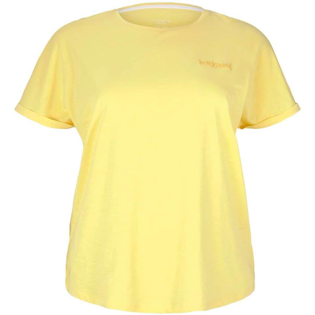 TOM TAILOR MY TRUE ME T-Shirt, mit kleiner Stickerei