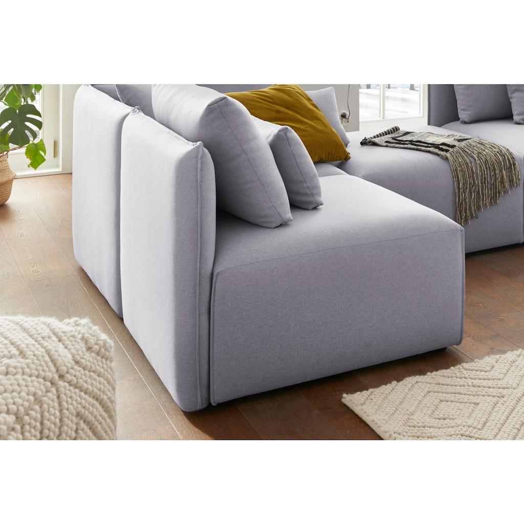 elbgestoeber Sessel »Elbdock«, Modul - zum eigenen Zusammenstellen; in vielen Bezugsqualitäten und Farben