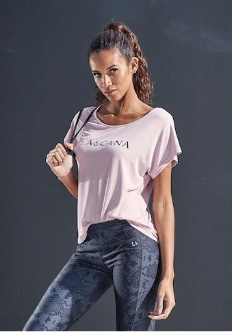 LASCANA ACTIVE T - Shirt »Shiny Snake Skin« kaufen