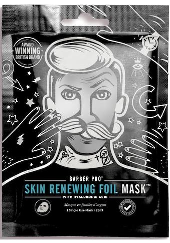 BARBER PRO Gesichtsmaske »RENEWING FOIL MASK™«, Thermo-Folienmaske mit Kollagen,... kaufen
