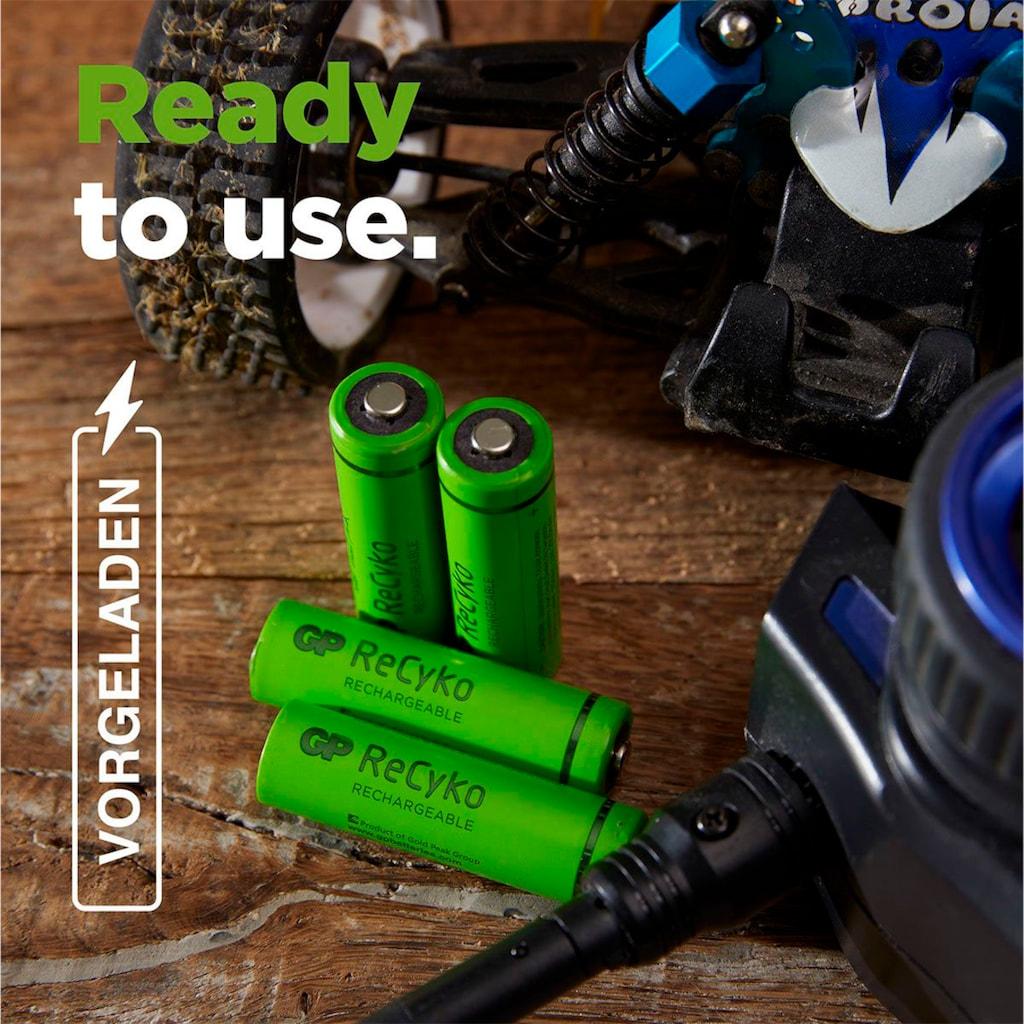 GP Batteries Akku »AAA Akku GP NiMH 650 mAh ReCyko 1,2V 2 Stück«, AAA
