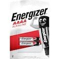 Energizer Batterie »Alkali Mangan Piccolo E96 (AAAA) 2 Stück«, 1,5 V