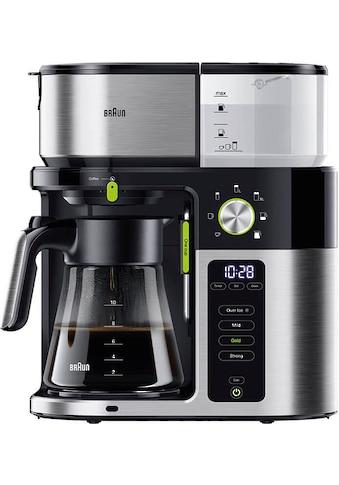Braun Filterkaffeemaschine MultiServe KF9050BK kaufen