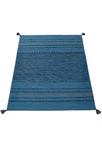 Teppich, »Kilim 217«, Paco Home, rechteckig, Höhe 13 mm, handgewebt kaufen