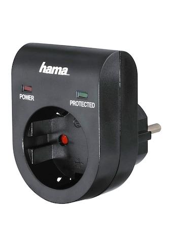 Hama Überspannungsschutz Adapter 3500 W Steckdose LED Anzeige kaufen