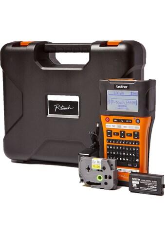 Brother mobiler Drucker »P-touch E550WVP«, Beschriftungsgerät kaufen