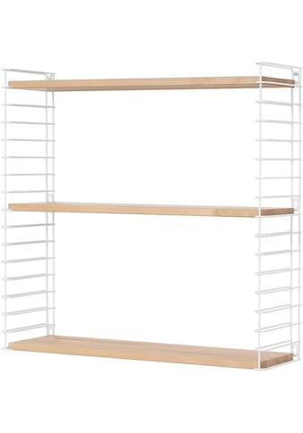 Metaltex Wandregal »Tomado«, 3 Ablageböden aus Buchenholz kaufen