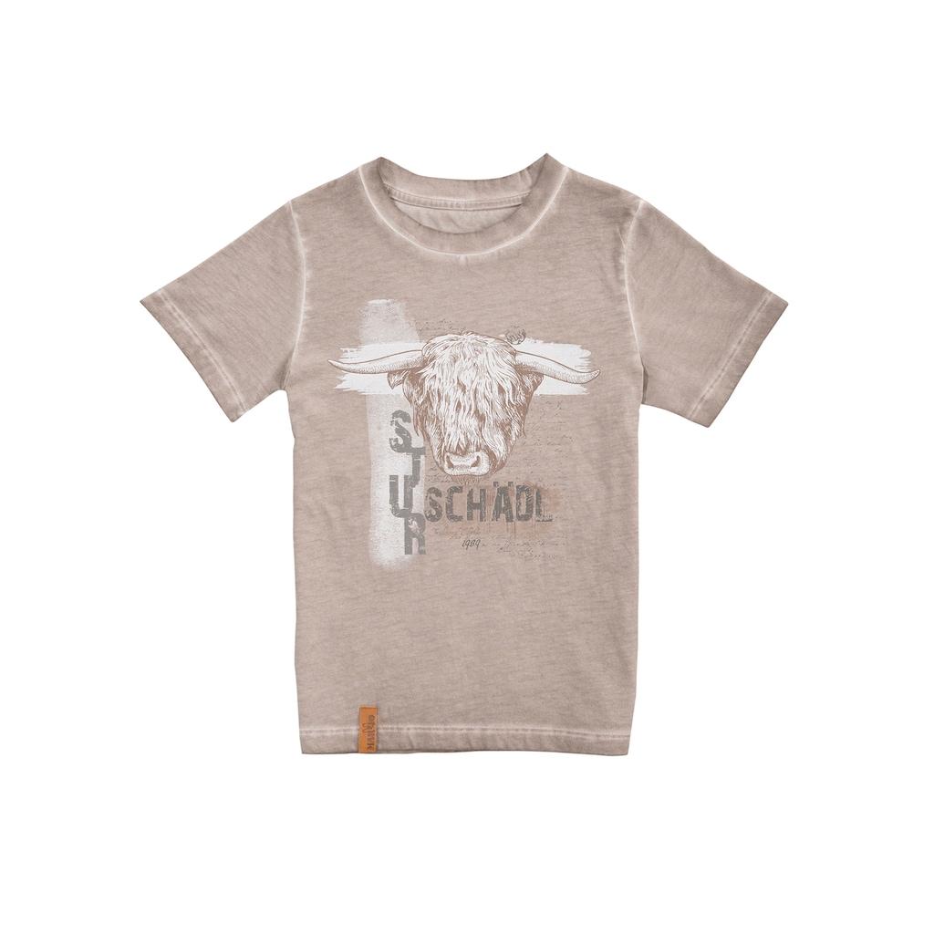 MarJo Trachtenshirt, mit frechem Print