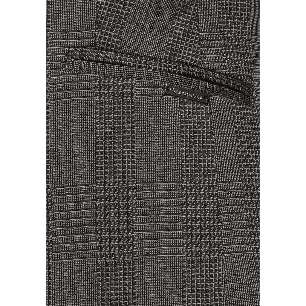 Bruno Banani Kurzblazer, in Glencheck-Muster