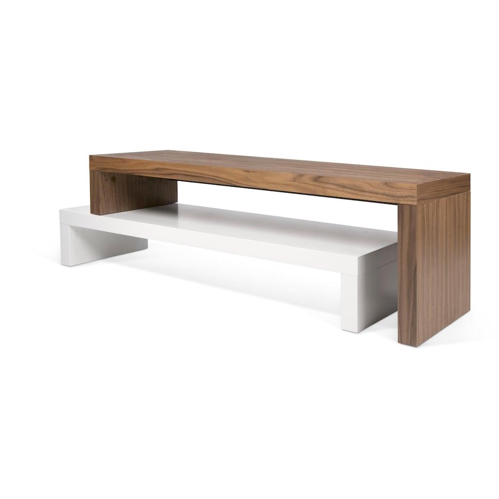 TemaHome Lowboard »Cliff«, in raffinierter Optik und aus schönem Holz, Breite 235 cm