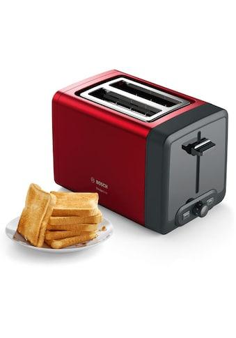 BOSCH Toaster »TAT4P424 DesignLine«, 970 Watt kaufen