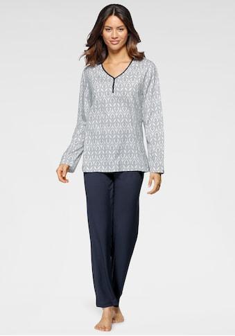 Cybèle Pyjama, (2 tlg.), mit mediterranem Muster kaufen