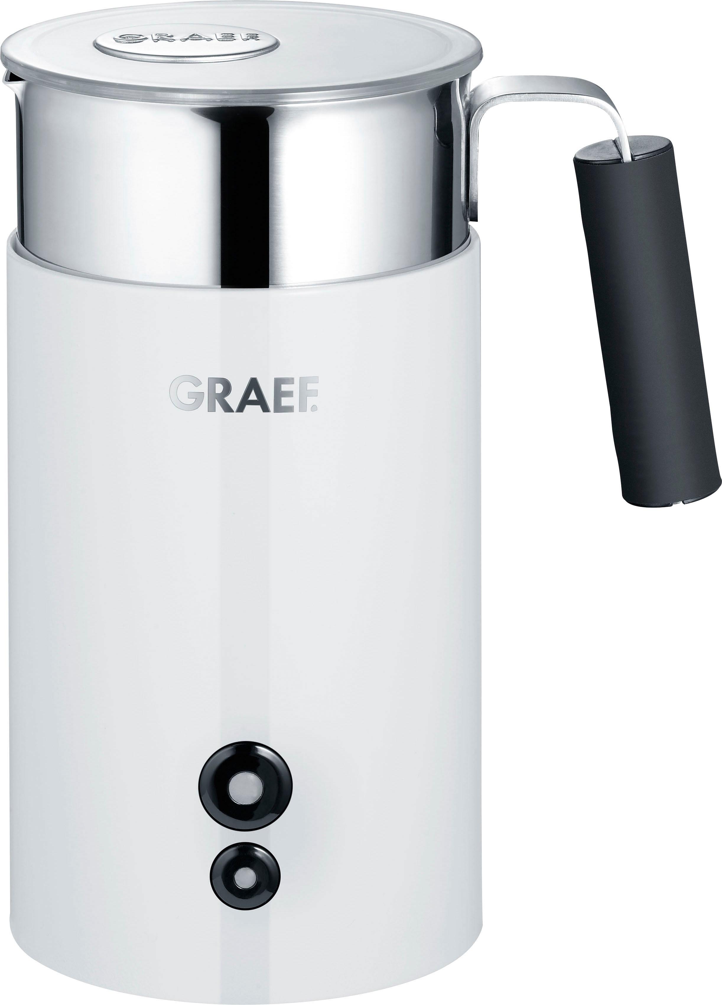 Graef Milchaufschäumer MS 701, weiß | Küche und Esszimmer > Kaffee und Tee > Milchaufschäumer | Graef