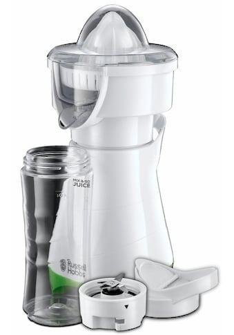 RUSSELL HOBBS 2in1 Zitruspresse Explore Mix & Go Juice 21352 - 56, 300 Watt kaufen