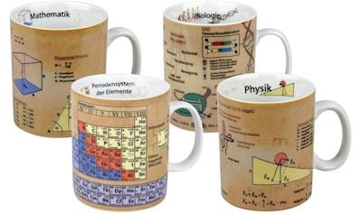 Könitz Becher »Naturwissenschaften«, (Set, 4 tlg., 4 Becher), 4-teilig kaufen