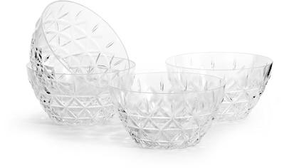 sagaform Dessertschale, aus hochwertigem Acryl, mit Dreieck-Prägung - perfekt geeignet... kaufen