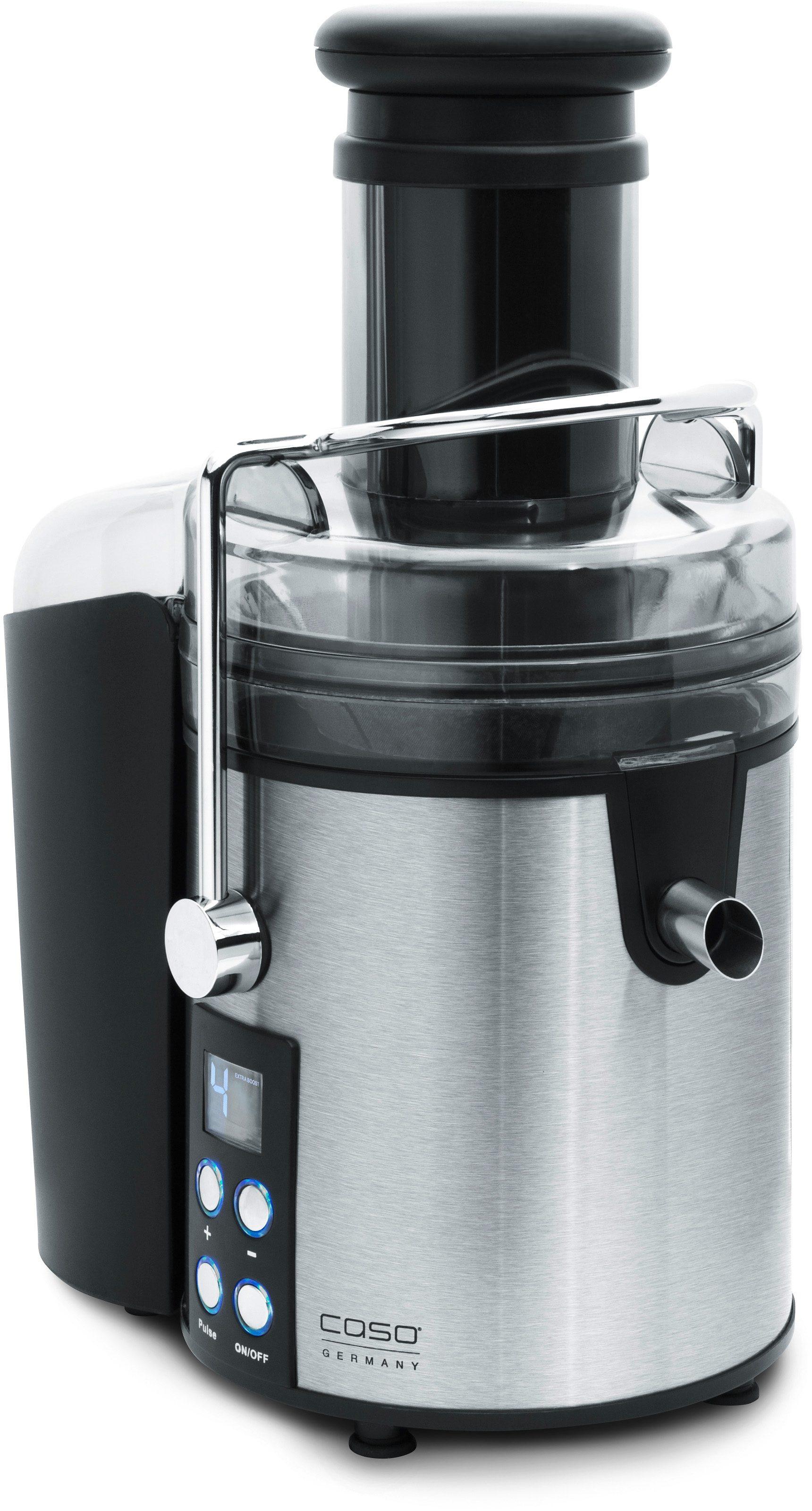 Caso Entsafter CASO PJ800, 800 Watt | Küche und Esszimmer > Küchengeräte > Entsafter | Schwarz | CASO DESIGN