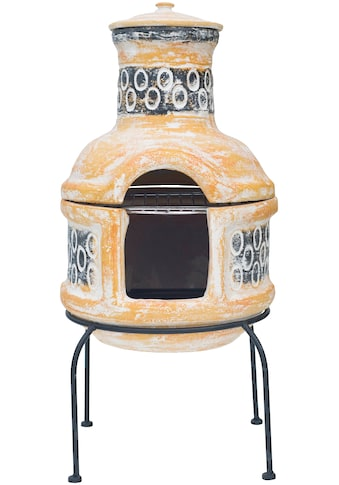 Buschbeck Grillkamin »Mexiko-Grill-Kamin Circle«, BxTxH: 36x36x50 cm kaufen