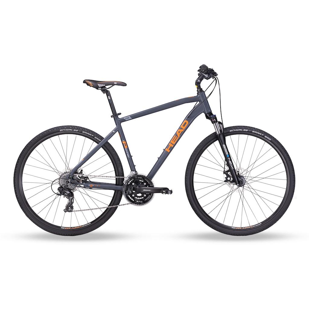 Head Crossrad »I-Peak I«, 24 Gang, Shimano, RDTX800 Schaltwerk, Kettenschaltung