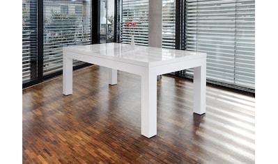 SalesFever Esstisch, erweiterbar durch Ansteckplatten kaufen