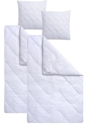 fan Schlafkomfort Exklusiv Microfaserbettdecke + Microfaserkissen »Climacontrol® II«,... kaufen