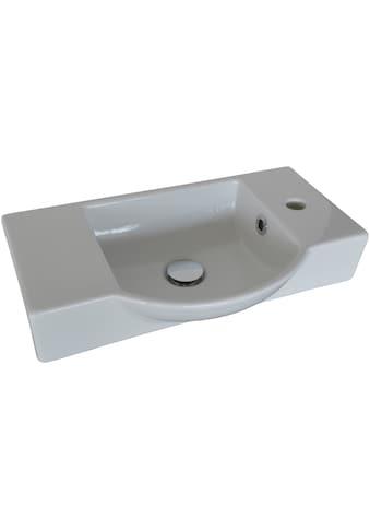 FACKELMANN Waschbecken »Gäste-WC«, Keramik, Breite 54,5 cm, für Gäste-WC kaufen