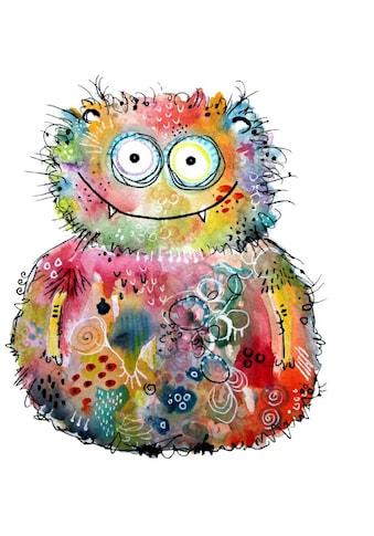 Wall-Art Wandtattoo »Lebensfreude - Happy Monster« kaufen