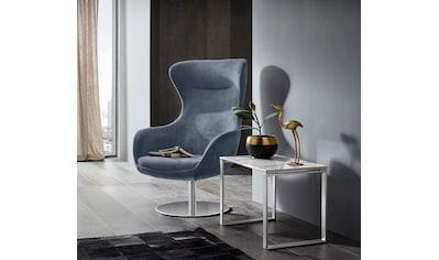 Places of Style Stuhl »Leona«, mit Drehfunktion, auf rundem Fuß kaufen