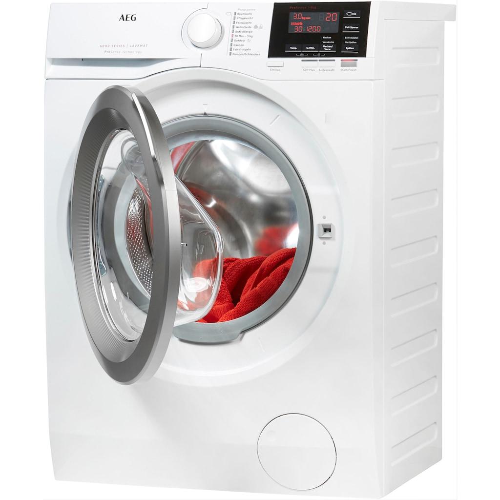 AEG Waschmaschine »L6FBA68«, 6000, L6FBA68, ProSense - Mengenautomatik