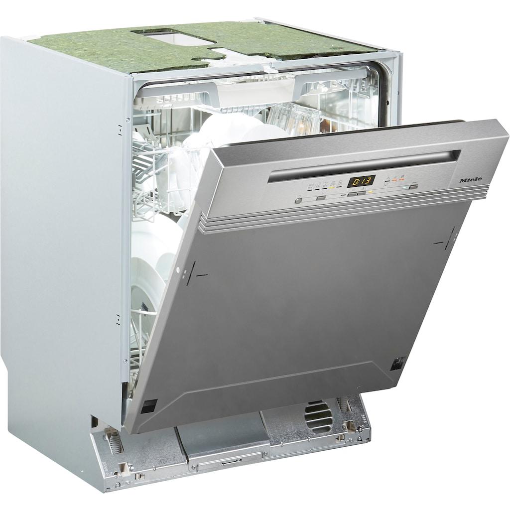 Miele teilintegrierbarer Geschirrspüler »G 5210 SCi Active Plus«, G 5210 SCi Active Plus, 14 Maßgedecke, 3D-MultiFlex-Schublade