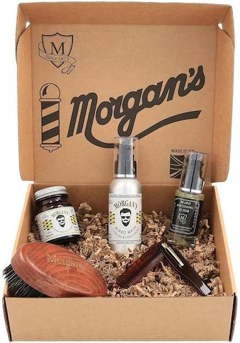 """Morgan's Geschenk - Box """"Beard Grooming Gift Set"""", 5 - tlg. kaufen"""