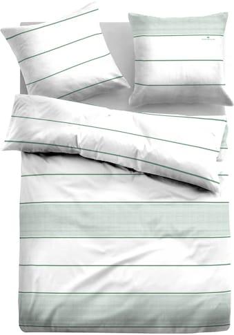 TOM TAILOR Wendebettwäsche »ORLANDO«, mit trendigen Streifen kaufen