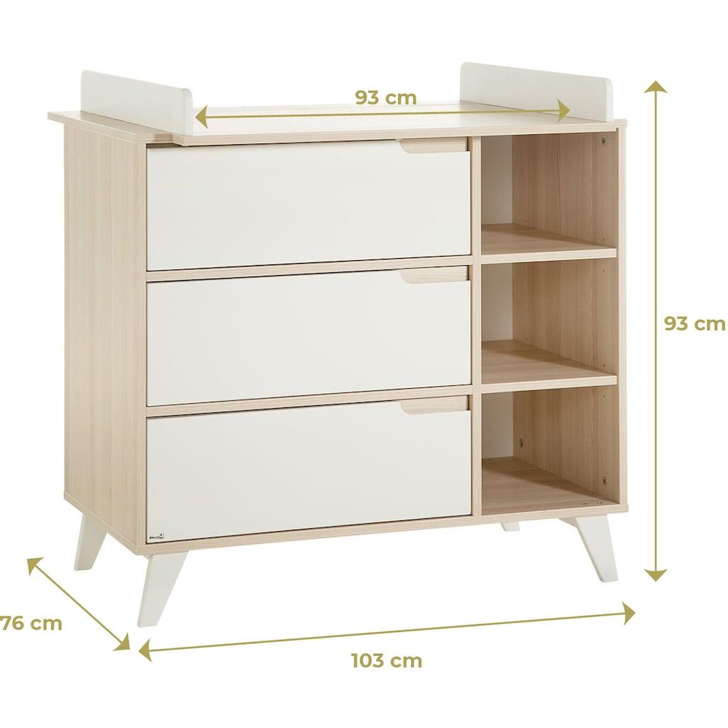 Geuther Babymöbel-Set »Schneewittchen«, (Spar-Set, 2 St.), mit Kinderbett und Wickelkommode; Made in Germany
