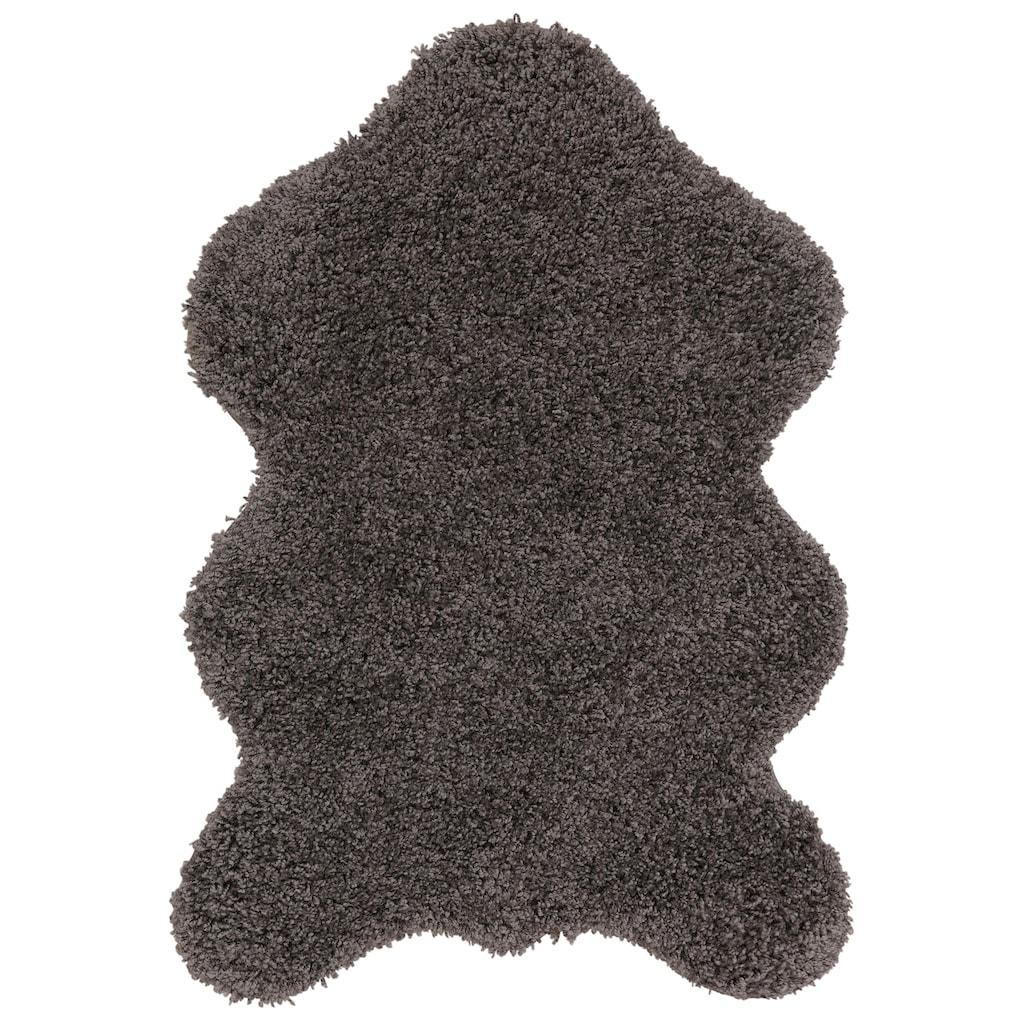 my home Hochflor-Teppich »Schaffell 45«, rechteckig, 45 mm Höhe, Webteppich in Fellform