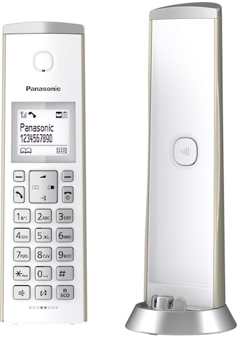 Panasonic Schnurloses DECT-Telefon »KX-TGK220«, (Mobilteile: 1 ), 4 Wege Navigationstaste kaufen