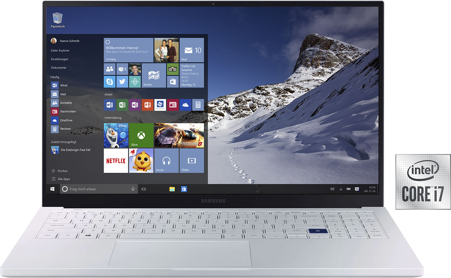 Samsung Notebook NP950X Galaxy Book Ion 15 , 512 GB SSD