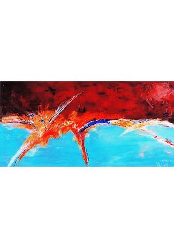 my home Gemälde »Unruhiger Horizont«, (100/3,5/70 cm) kaufen