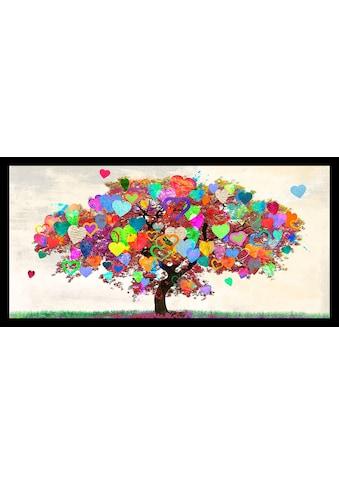 my home Bild »MALIA RODRIGUES - Tree of Love«, mit Rahmen kaufen