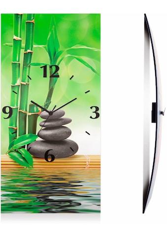 Artland Wanduhr »Spa Konzept Zen Basaltsteine« kaufen