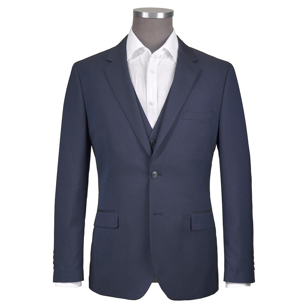 Man's World Anzug, changierendes Strukturmuster