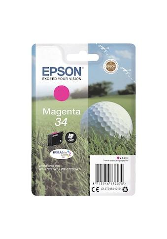 Epson Tintenpatrone  -  magenta »34« kaufen