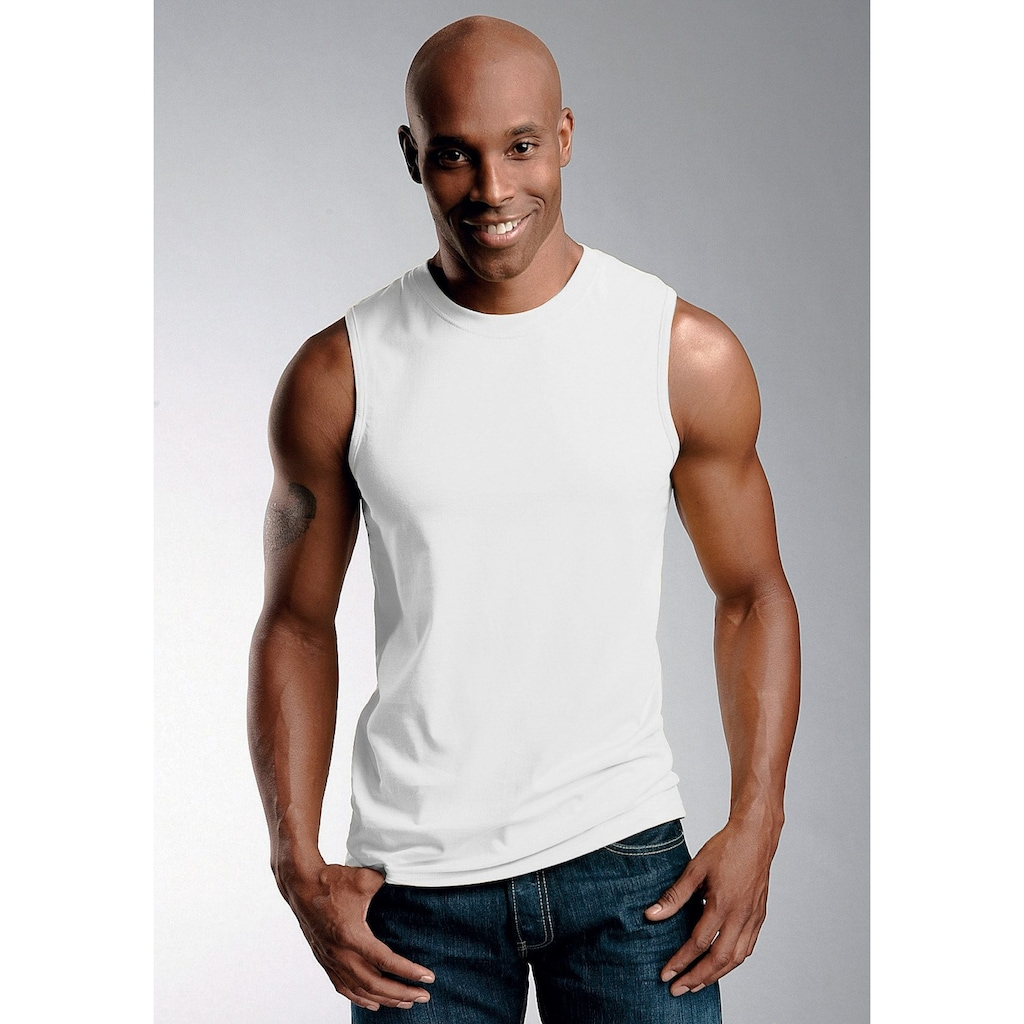 H.I.S Achseltop »Cotton made in Africa«, (3 St.), in Muscle Form