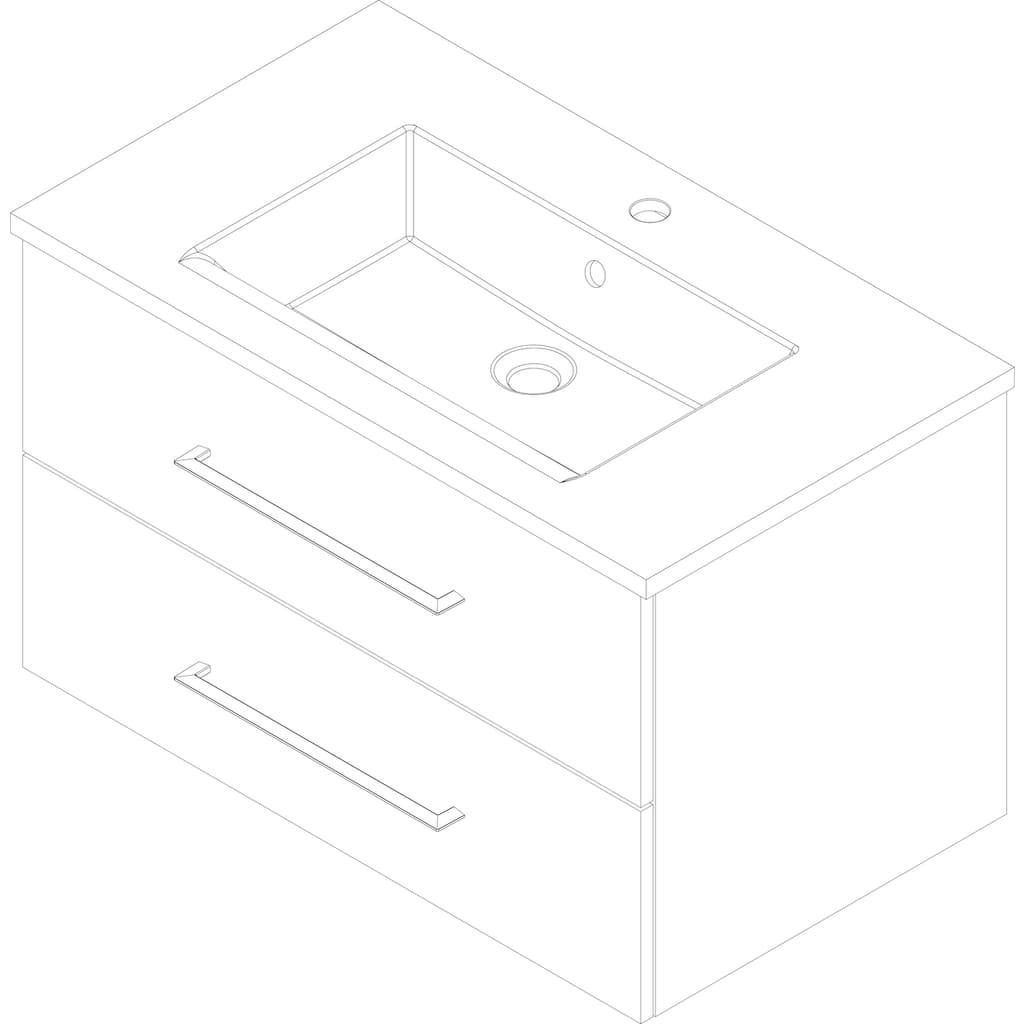FACKELMANN Waschtisch »B.perfekt«, Breite 80 cm